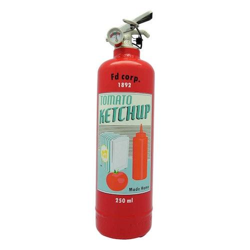 FIRE DESIGN - Tomato Ketchup Brandsläckare