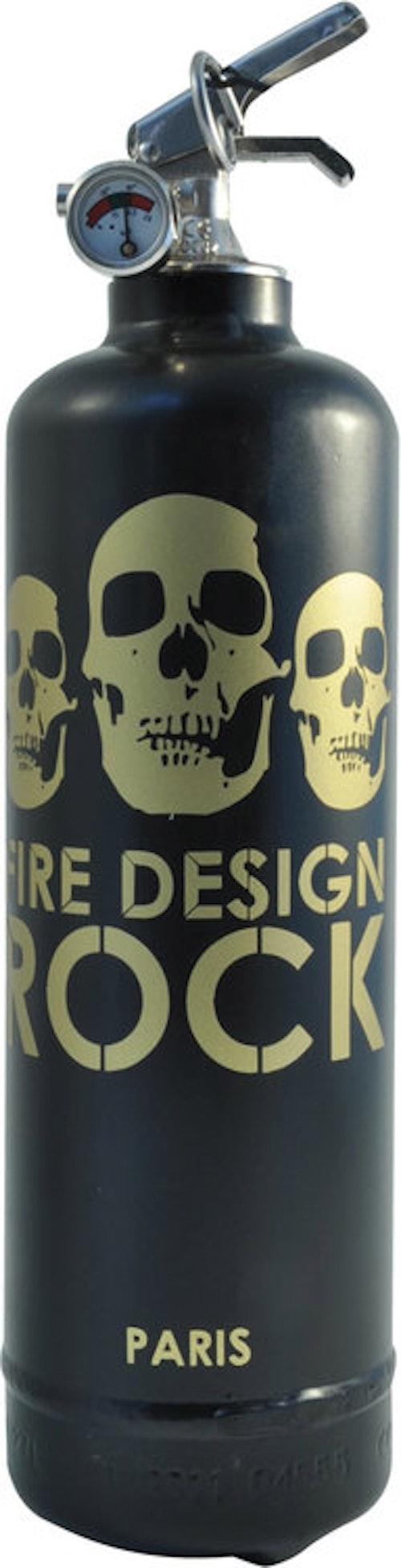 FIRE DESIGN - Rock Guld Brandsläckare