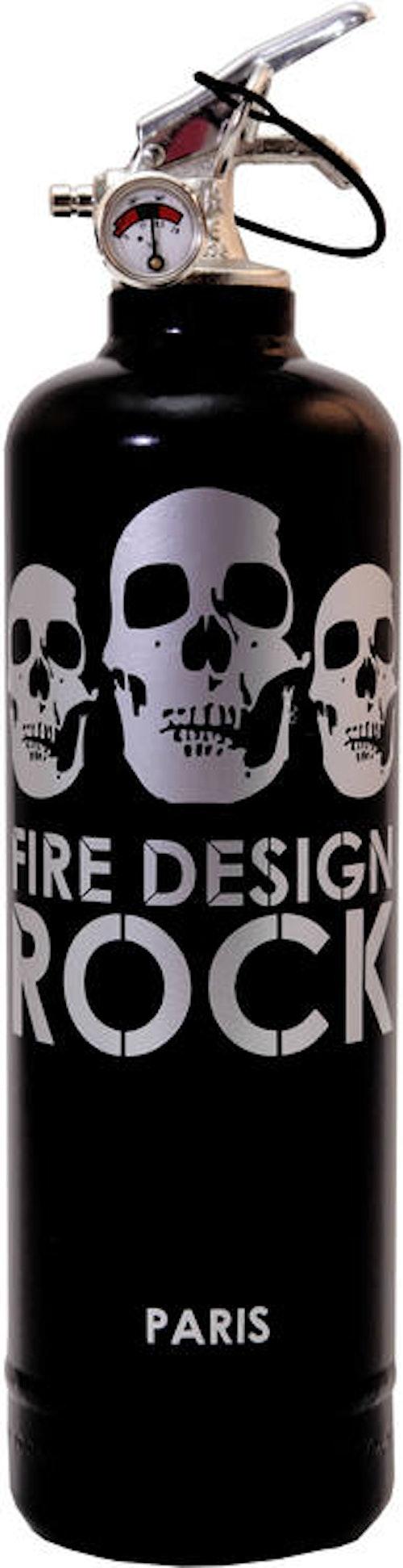 FIRE DESIGN - Rock silver Brandsläckare