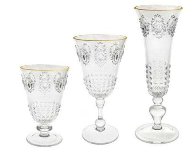 BACI MILANO - First Class Vattenglas/Vinglas/Champagneglas 6-pack