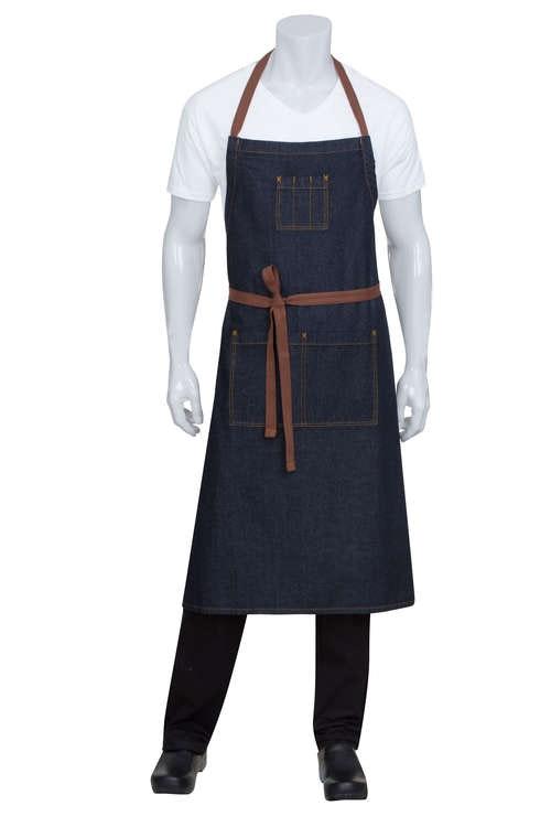 CHEF WORKS - MEMPHIS Adjustable Chefs BiB Förkläde