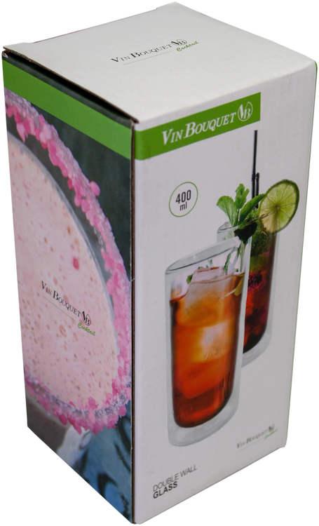 VINBOUQUET Gin & Tonic Glas - Dubbelvägg