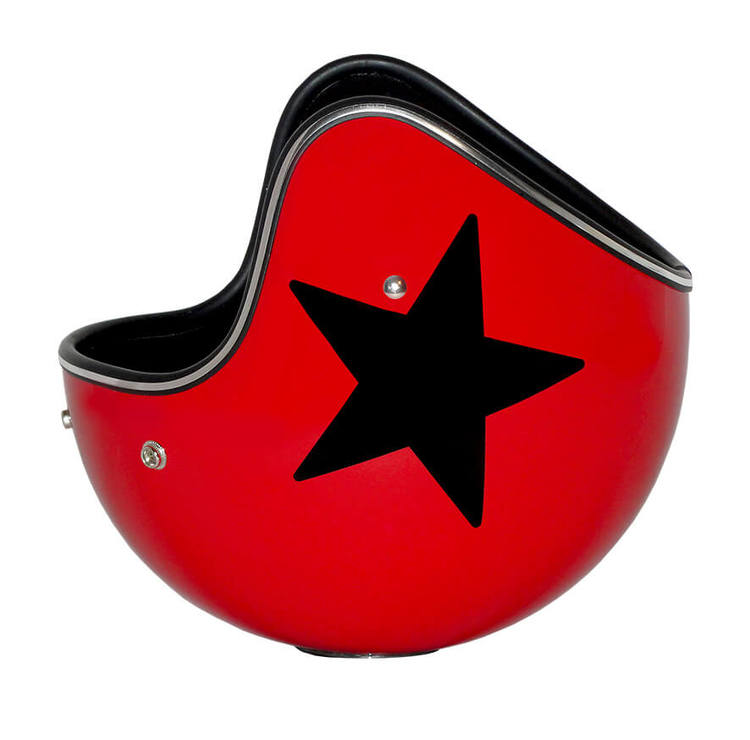 BIENVENUE ICEJET Star Champagnekylare - Röd