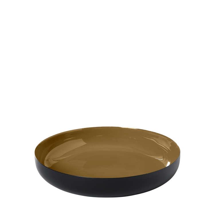 BLOMUS VISO Skål, Large - Dull Gold