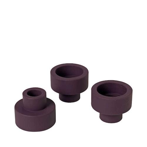 BLOMUS TRIO Set med 3 ljushållare - Winetasting
