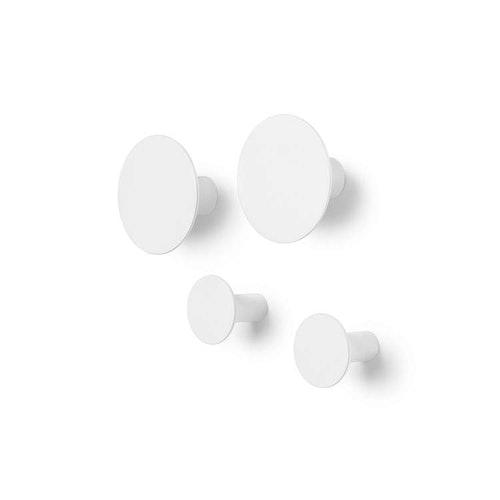 BLOMUS PONTO Väggkrok Set/4 - Lily White