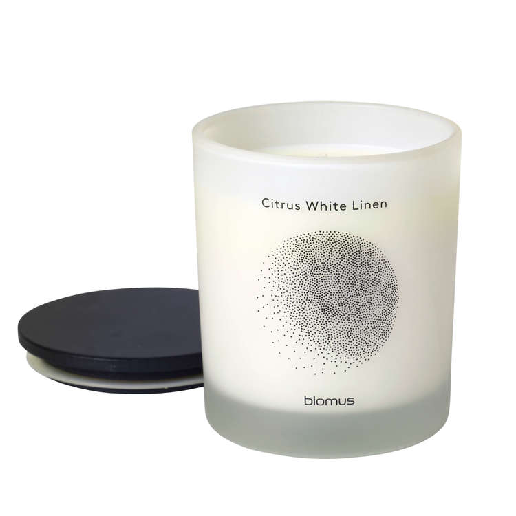 BLOMUS FLAVO Doftljus - Citrus White Linen, Lily White