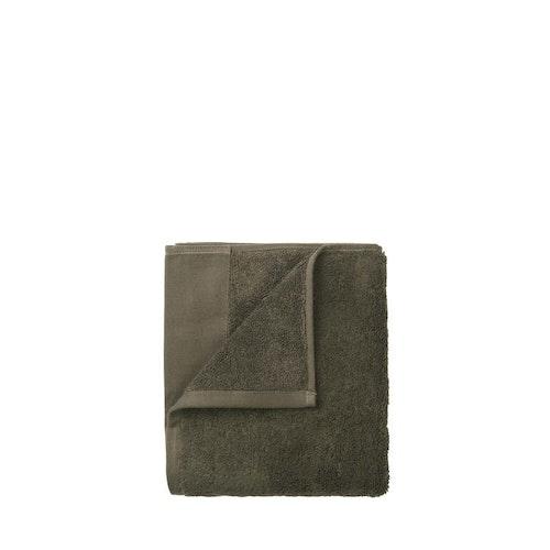 BLOMUS RIVA Gästhandduk Set/4 - Agave Green, Magnet, Moonbeam, Elephant Skin, Micro Chip