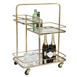 CULINARY CONCEPTS Lanesborough Three Tier Drinkvagn - Guld