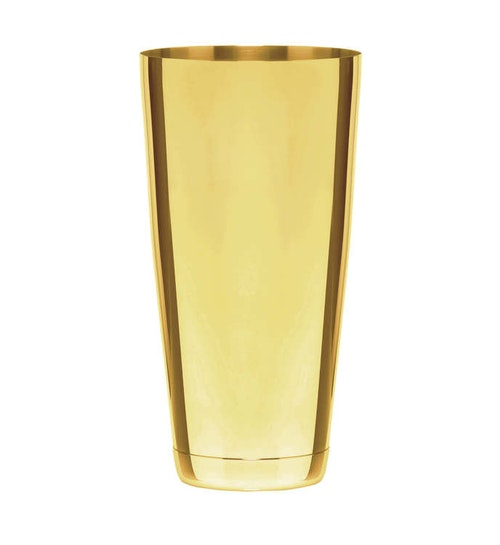 BARPROFESSIONAL Speakeasy Boston shaker - Guld/Silver
