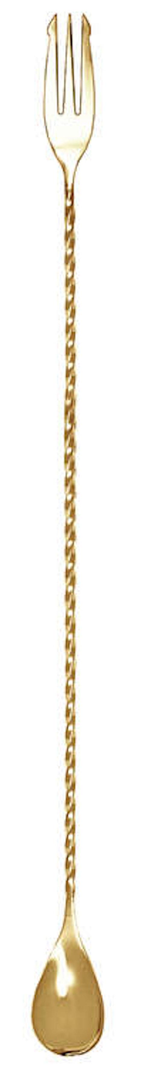BARROFESSIONAL Speakeasy Barsked med gaffel - Guld