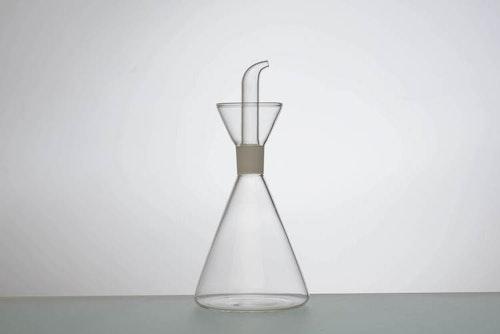 Olivoljekanna Glas - Konisk