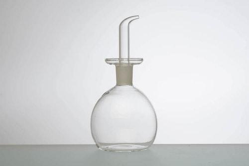 Olivoljekanna Glas - Rund