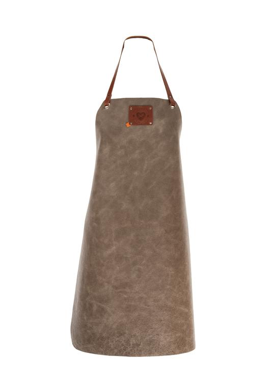 XAPRON Ladies Skinnförkläde - Grey/Cognac/Blue/Brown