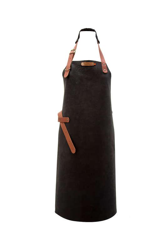 XAPRON Utah Skinnförkläde - Black