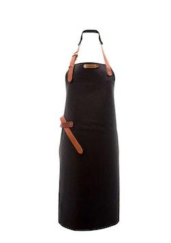 XAPRON New York Skinnförkläde - Black