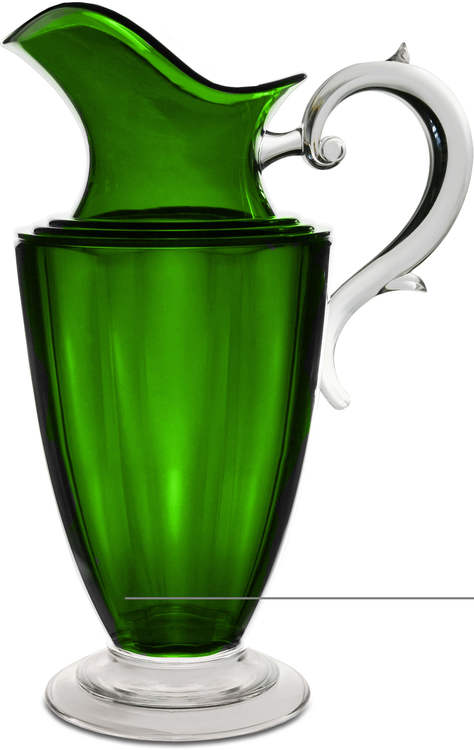BACI MILANO Elizabeth karaff - Clear/White/Wood/Green