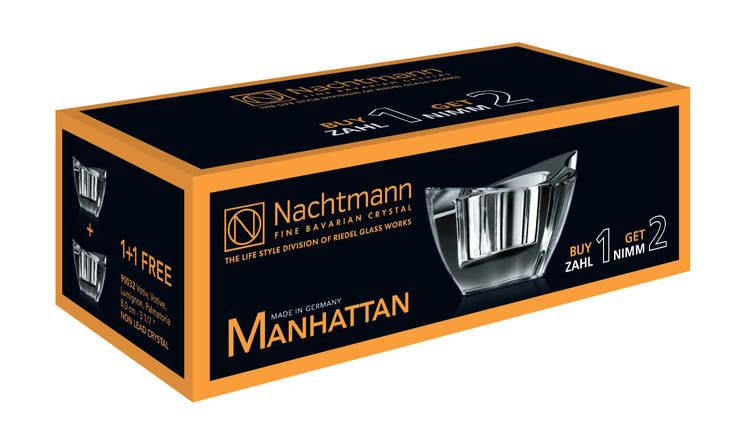 Nachtmann Manhattan Ljuslykta 8 cm 2-pack