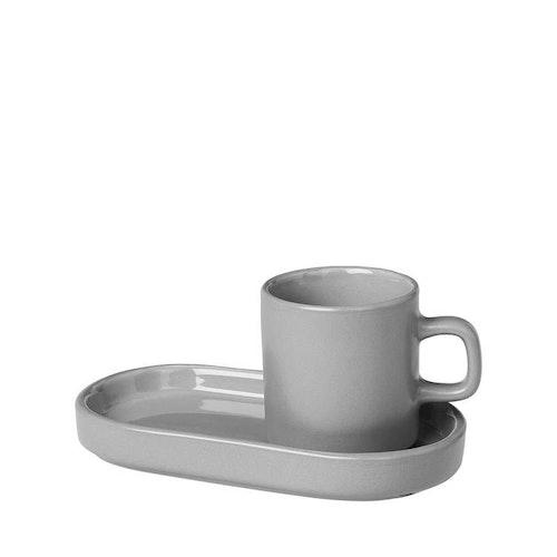BLOMUS MIO Espressomuggar Set 2 st - Mirage Grey