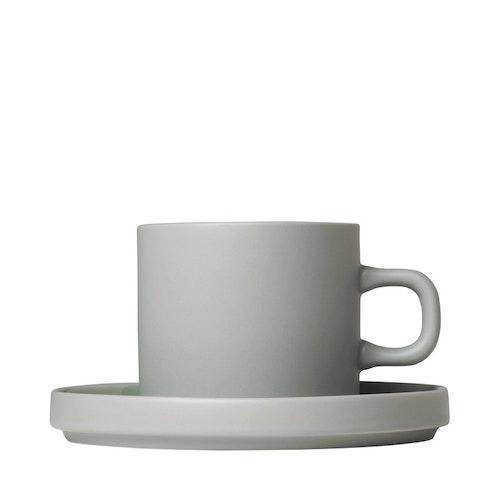 BLOMUS Mio Kaffekopp set om 2, 4 st - Mirage Grey