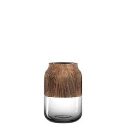 LEONARDO Colletto Vas, 18 cm - Mörkgrå