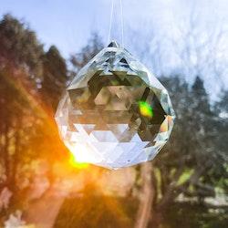 Feng shui kristall/solfångare 6cm