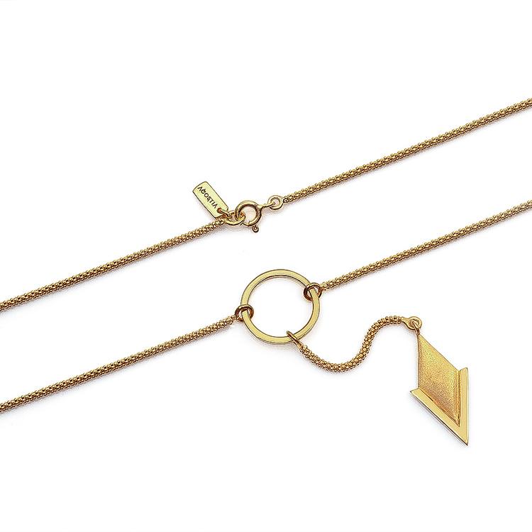 PIL. Halsband stort, guld