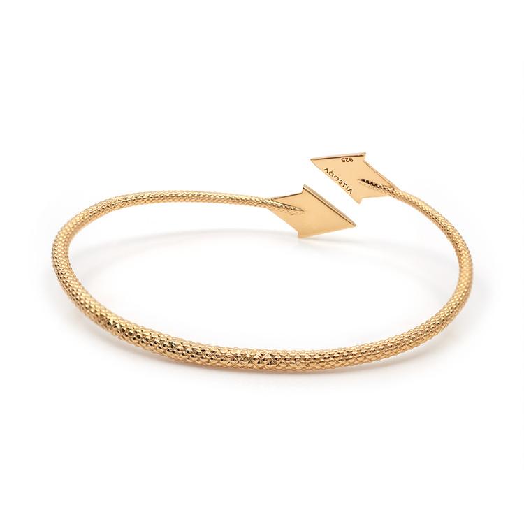 PIL. Armband stort, guld