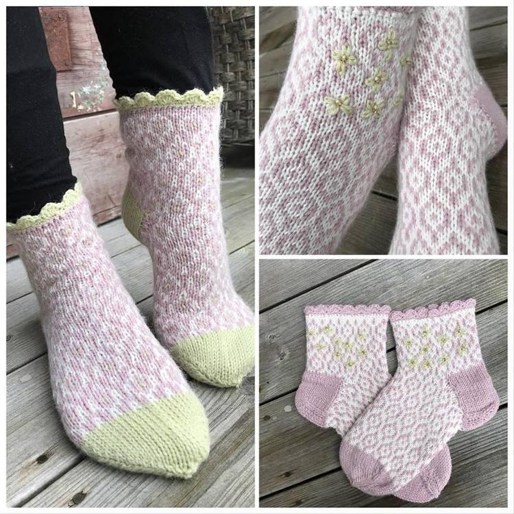 Lue og sokker Duggfrisk