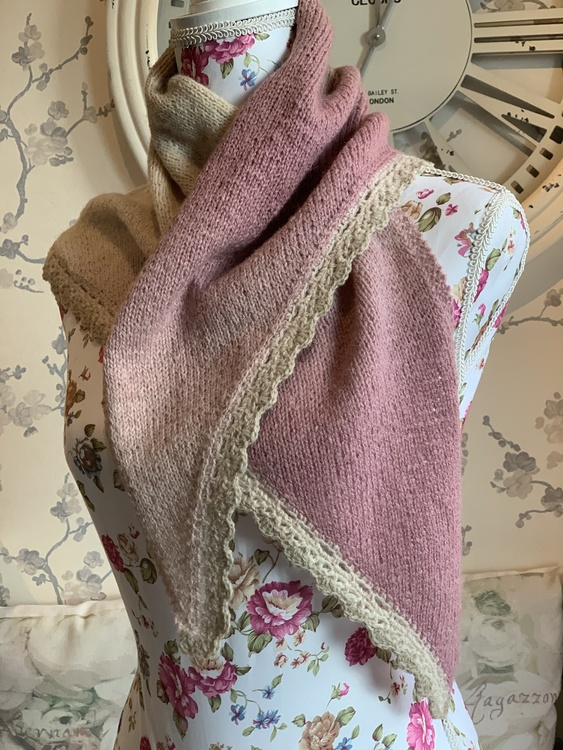 Enkelt sjal