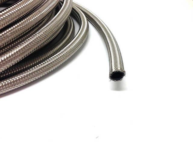 AN4 Stålomspunnen slang