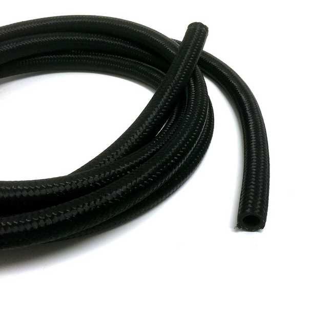 AN6 Nylonomspunnen slang