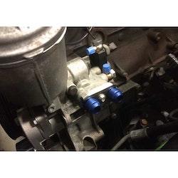 BMW S50, S54 AN adapter för oljekylning
