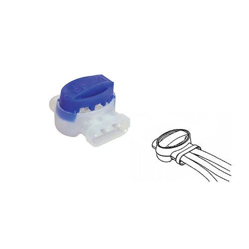 Skarvklämma/koppling för signalkabel/gränskabel