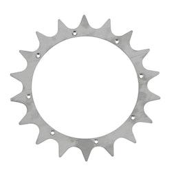 Tandat hjul, spikhjul