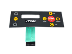 STIGA AC tangentbord/overlay display 527/527S
