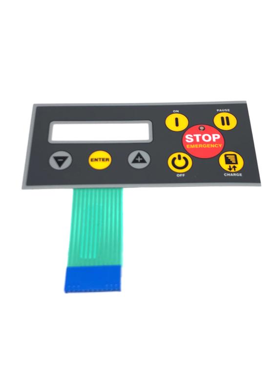 STIGA Autoclip tangentbord/overlay 520/523/525/525