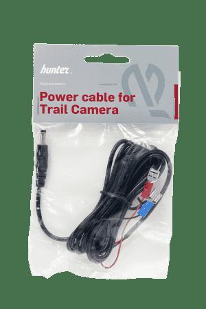 Hunter strömkabel för kamera med kabelskor.