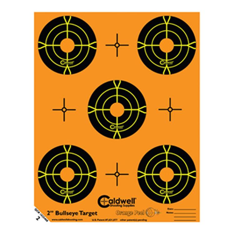 Caldwell måltavla Orange Peel 2″ bulls-eye: