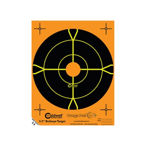 Caldwell måltavla Orange Peel 5,5″ bulls-eye