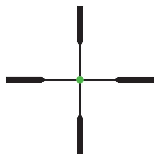 Trijicon AccuPoint Kikarsikte 2,5-12,5x42