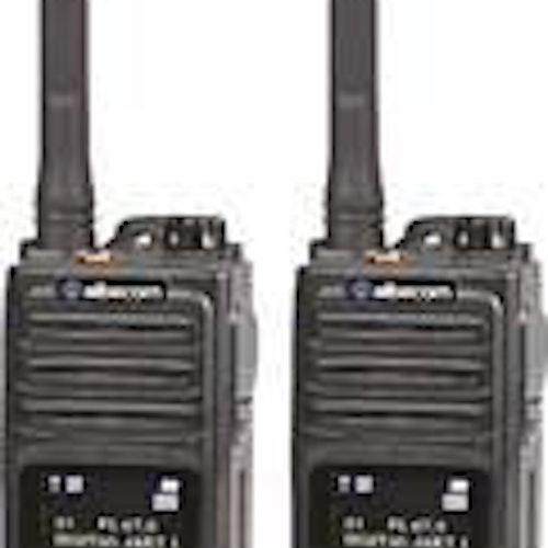 Radiopaket 2st VIPER X610 Analog/Digital.IP67.155mhz.Svart