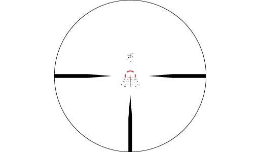 Vortex Strike Eagle 1-6×24 riktm AR-BDC3 (Moa) belyst