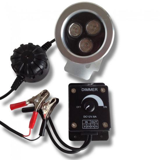 Åtelbelysning 3W LED Dimbar