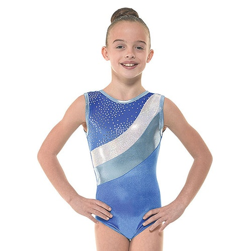 Velvet & Foil II, Royalblå gymnastikdräkt