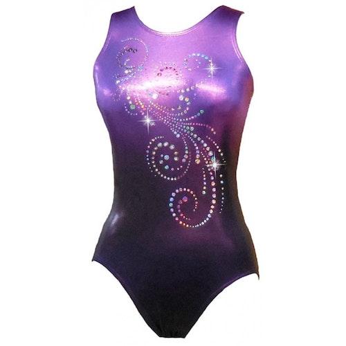 Deep Purple Gymnastikdräkt