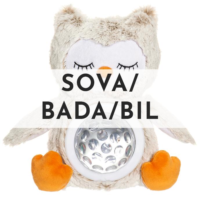 Sova / Bada / Bil - Teddykompaniet