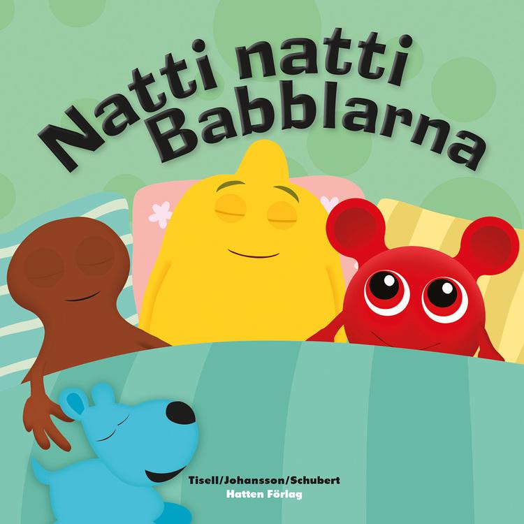 Babblarna- Paket med bok och godnattleksak