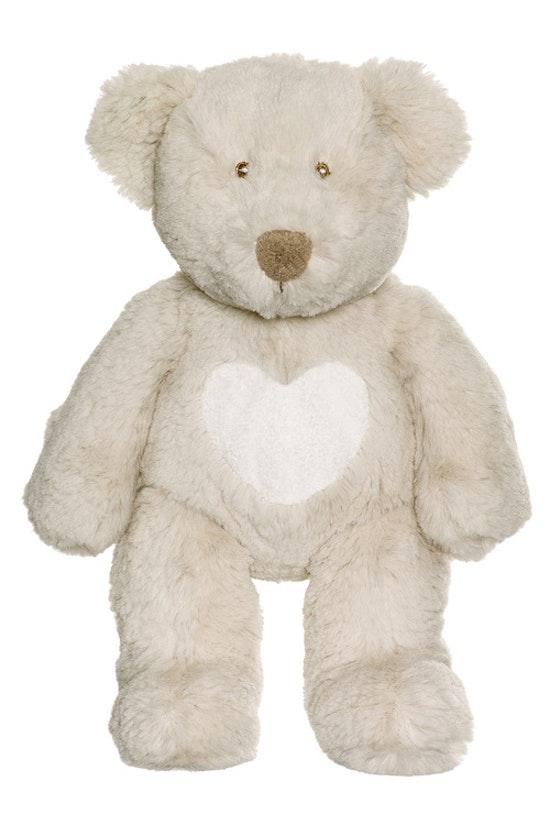 Teddy Cream Nalle, liten, grå