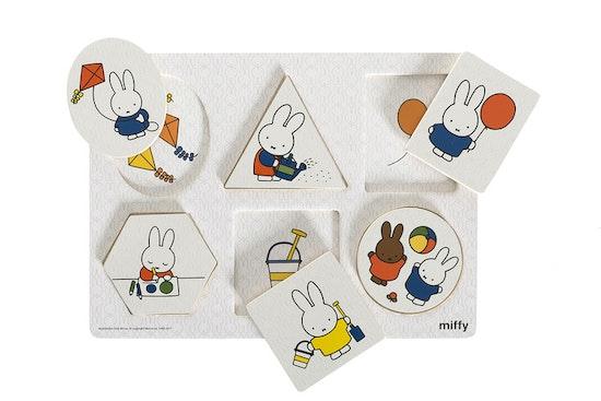 Miffy- Formpussel, 6 bitar, 1- 3år